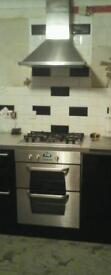 kitchen electric double ovan for sale
