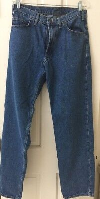 R K Brand Work Wear Jeans Rural King Relaxed Fit 33 X 34 Medium Wash  00  Cotton