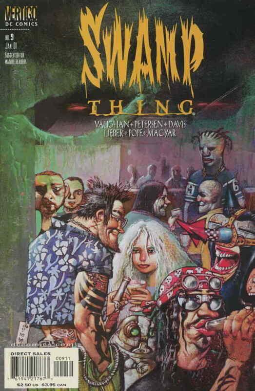 Swamp Thing (3rd Series) #9 VF/NM; DC/Vertigo | save on shipping - details insid