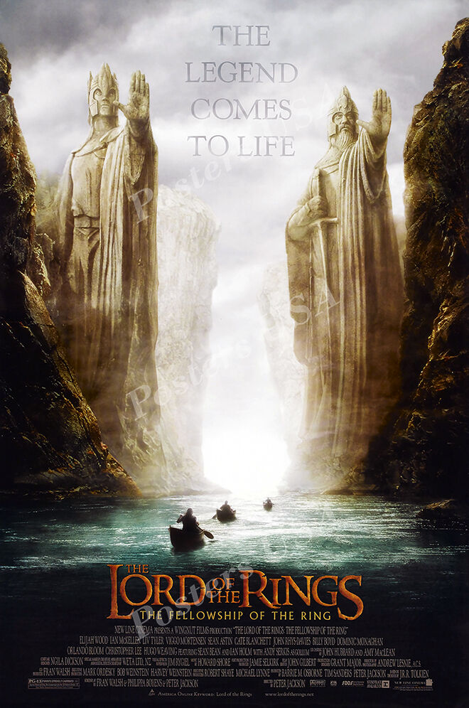 Posters USA - Lord of the Rings Fellowship of Ring Movie Pos