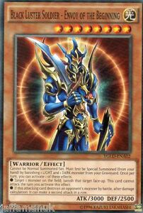 Black Luster Soldier - Envoy of the Beginning - YGLD-ENA02 - 1st Edition