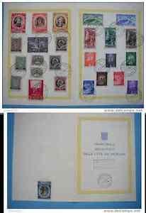 """timbres Vatican : PREMIERE OBLITERATION - France - Commentaires du vendeur : """"trs bon état"""" - France"""