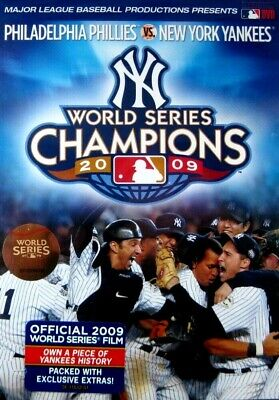 MLB: World Series Champions 2009 (New DVD) Yankees vs Phillies Baseball FREEShip
