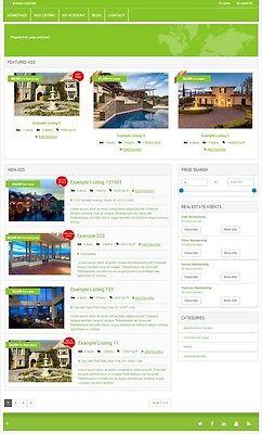 Real Estate Rental Ads Website Business For Sale Mobile Friendly Website