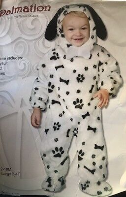 Dalmation Plush Costume Infant 12-18 Months Free Priority Mail