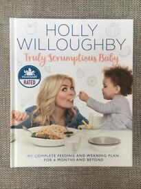 Holly Willoughby Truly Scumptious Baby Weaning Book