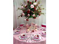 Wedding decoration hire