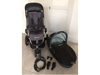 Quinny buzz pushchair and carrier and extras!!!