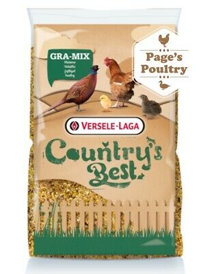 Versele-Laga Country's Best Gra-Mix Poultry & Pheasant Feed 20kg *NEXT DAY DEL*