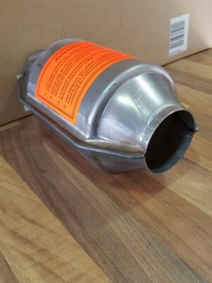 Universal Exhaust Catalytic Converter Round 400 Cell 2
