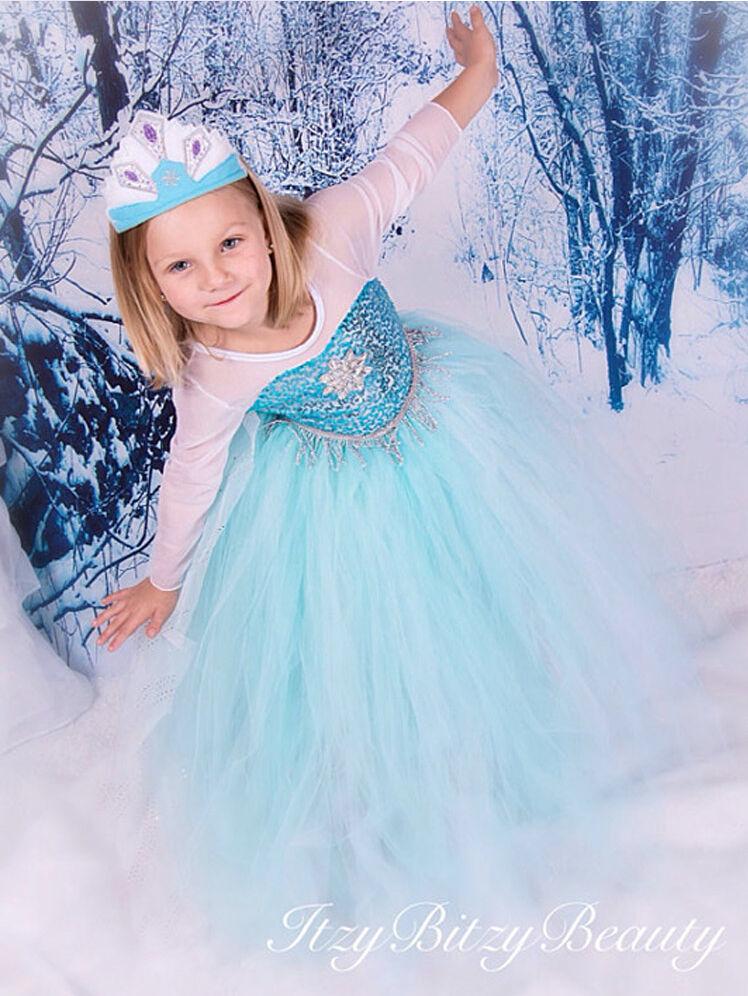 Frozen - Costume Dress Elsa 2-12 Years
