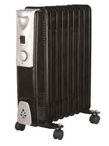 Nuevo-Portatil-9-ALETA-2000w-Electrico-Aceite-Relleno-Radiador-Calefactor-amp