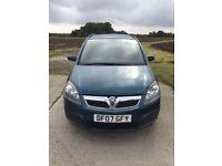 Vauxhall Zafira Life 1.6 Low Mileage (7 Seater)