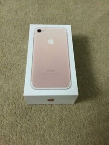 iPhones 7 32GB Brand New in Box With 2 years AppleCare Plus