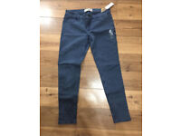 Hollister jeans brand new! Uk size 12. Still has tags and packaging