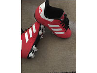 Adidas football boots size 2