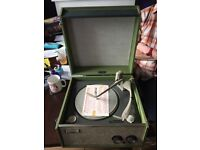 Dansette 1960s record player (NEVER BEEN USED!)