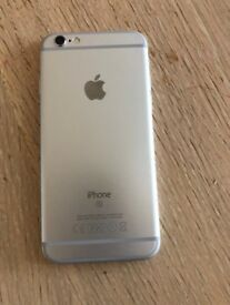 iPhone 6s, Silver, 16GB, unlocked to all networks!