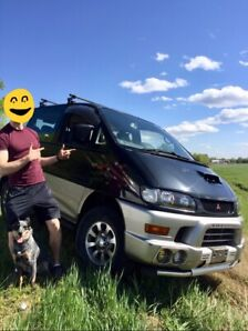 Safetied CLEAN Mitsubishi Delica TURBO DIESEL 4x4 Adventure Van