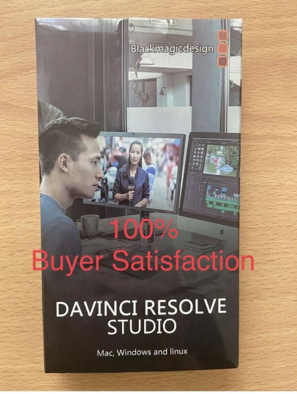 Davinci resolve studio 16.2.7 Dongle  with SD card with Software
