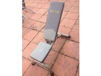York fitness weight bench