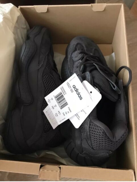 new product f850c 430e9 Yeezy 500 Black UK 10 | in Sutton-on-Hull, East Yorkshire | Gumtree