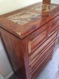 Beautiful hardwood drawers