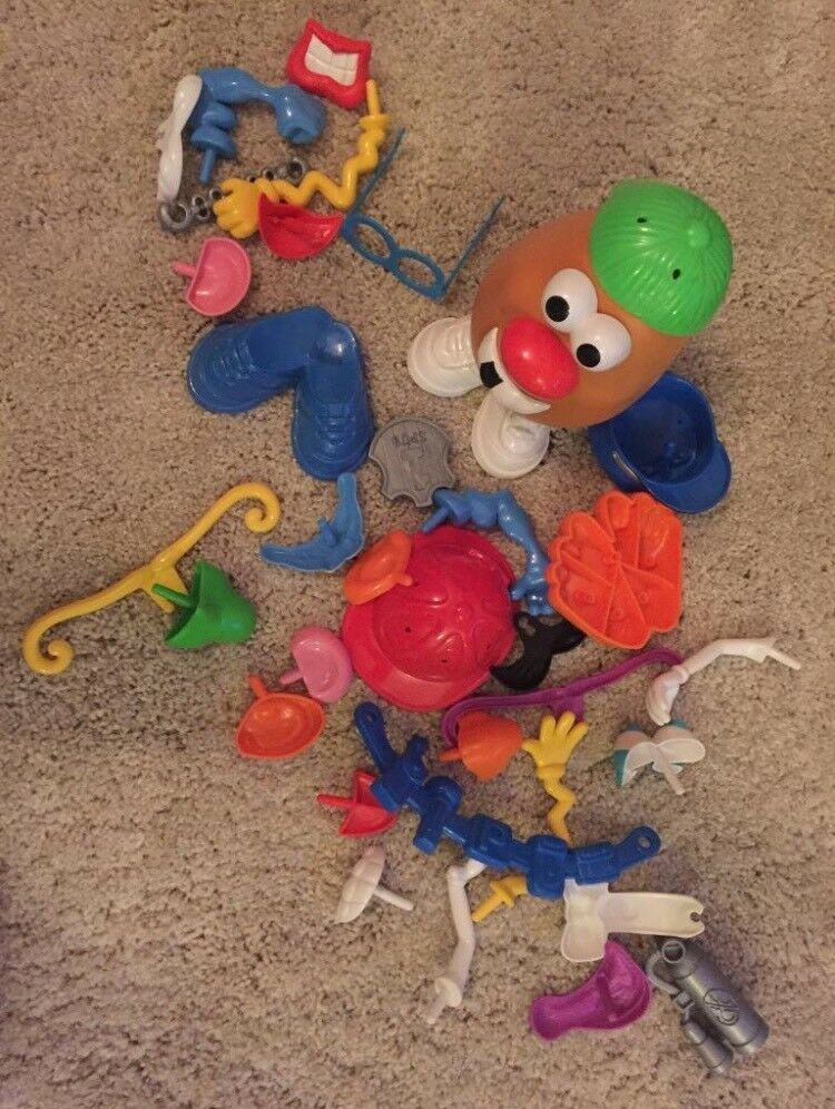 Classic Mr Potato Head with lots of accessories