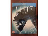 Alien Anthology (New & Sealed) + Alien Covenant Blu-Ray