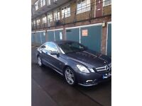 GREY MERCEDES E CLASS 220 COUPE, HIGH SPEC, NO TIME WASTERS ENQUIRE FOR MORE INFO