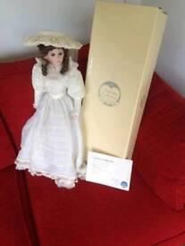 Teresa 63cm porcelain doll