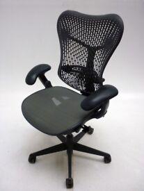Herman Miller Mirra Graphite Office Chairs