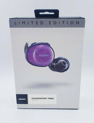Bose SoundSport Free Truly Wireless Sport Headphones Limited Edition Ultraviolet