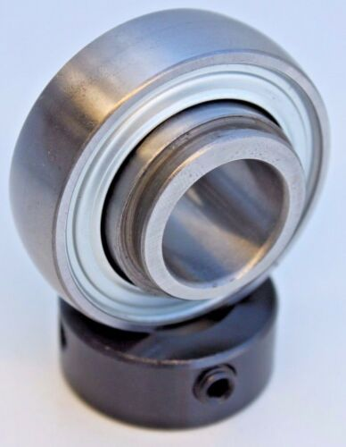 "Premium SA205-16 Insert Bearing 1"" Bore w/Collar Spherical OD NPS100RPC RA100RRB"