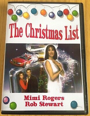 THE CHRISTMAS LIST (1997) CLASSIC XMAS MOVIE MIMI ROGERS & ROB STEWART [DVD]  ()