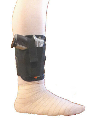 - Concealed Ankle Holster for Handguns, Pistols, and Revolvers, Conformable Mater.