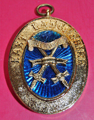 East Lancashire Past Provincial Deputy Grand Sword Bearer masonic collar jewel