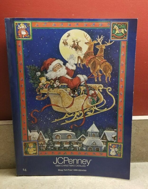 1994 JCPenney Christmas Catalog Gift wish book. Vintage Barbie, Sega, Nintendo