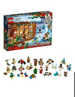 Factory sealed LEGO City Advent Calendar 60235 Building Kit, New 2019 234 Pieces