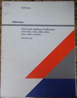 Tektronix Tds520a 524a 540a 544a 620a 640a 644a Reference Guide