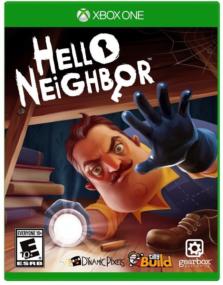 Hello Neighbor (Microsoft Xbox One, 2017) NEW SEALED