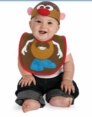 Mr Potato Head Halloween Costume (NEW Mr Potato Head Bib and Hat, Halloween Costume - Infant - Size 0-12)