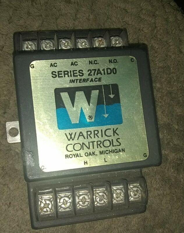 Warrick 27A1D0 Series 27 Intrinsically Safe Control Installation form 270