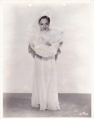 JOAN LESLIE Original Vintage 1935 GEORGE WHITE'S SCANDALS Studio Portrait Photo