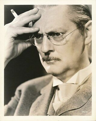 LIONEL BARRYMORE Original Vintage 1936 CLARENCE BULL MGM DBW Portrait Photo