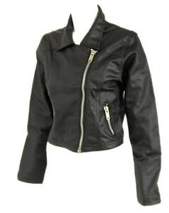 Women s Size 12 Black Leather Jackets cac15a07e