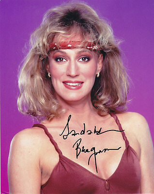 Sandahl Bergman signed photo