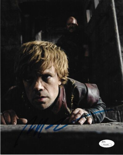 Peter Dinklage Game of Thrones Autographed Signed 8x10 Photo JSA COA #1