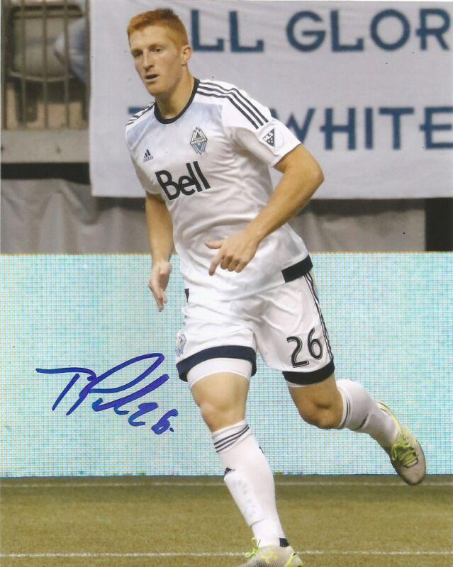 Vancouver Whitecaps Tim Parker Autographed Signed 8x10 Photo COA B