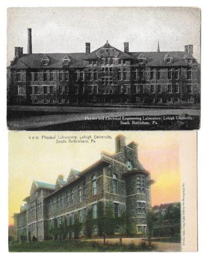 Postcards Lehigh University,Bethlehem PA:Physical Lab/Phys &Elec Engineering Lab